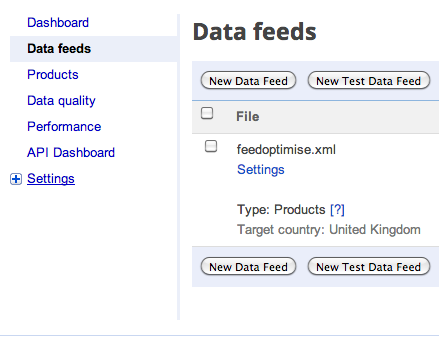 Data Feeds